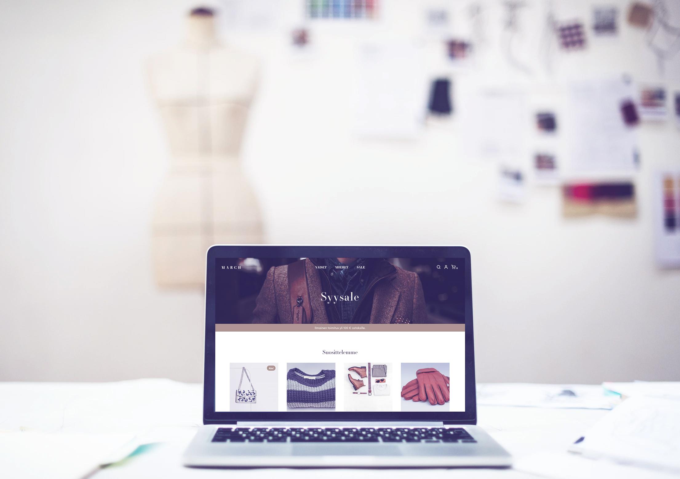 Teamitin WooCommerce-verkkokauppa: teema vaatekaupoille